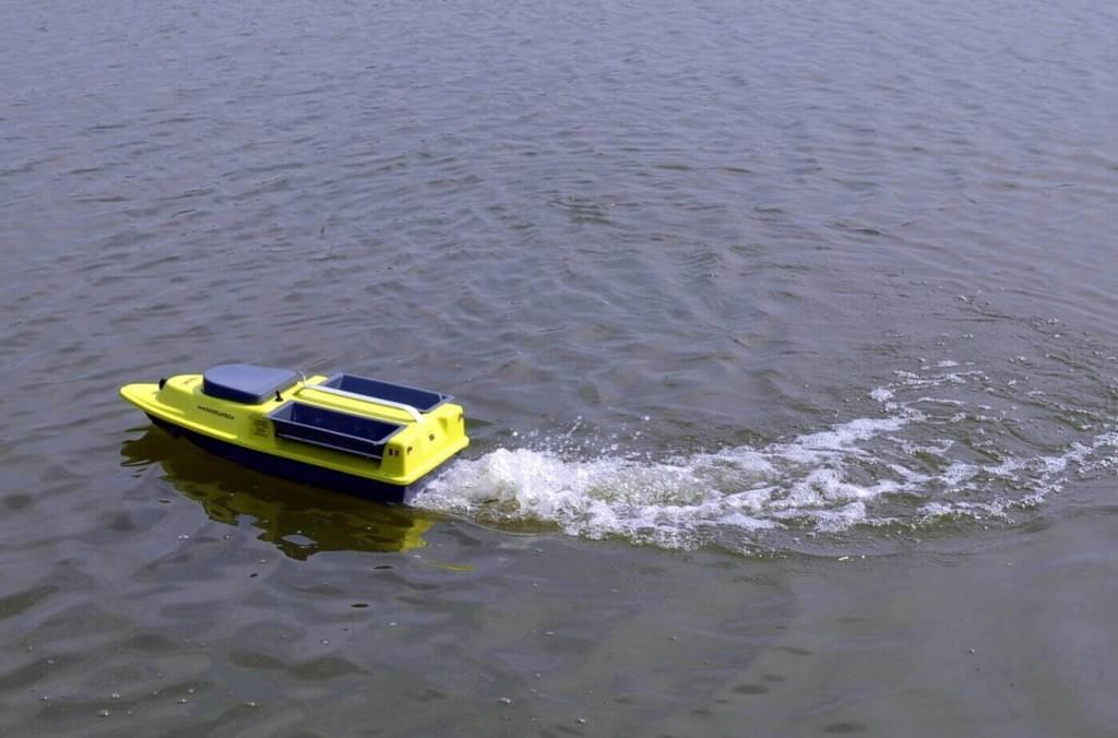 sonar wireless pentru balta